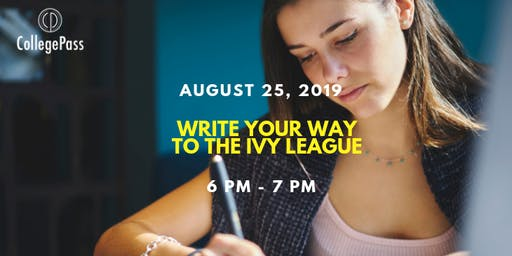Write your way to the Ivy League