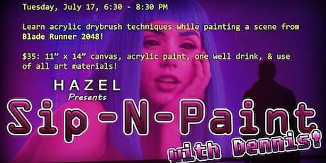 HAZEL Presents: Sip-N-Paint with Dennis! tickets