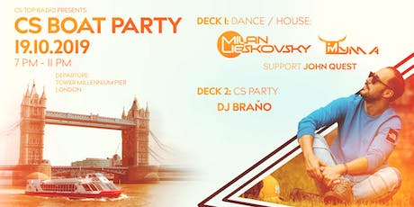 CS BOAT PARTY tickets
