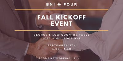 BNI @ FOUR | Fall Kickoff