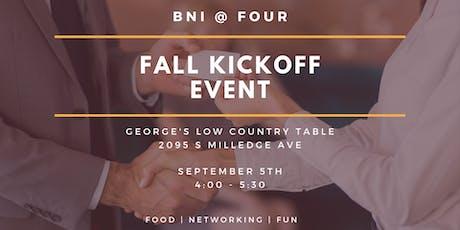 BNI @ FOUR   Fall Kickoff tickets