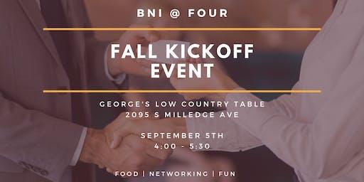 BNI @ FOUR | Fall Kickoff