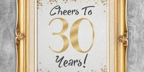 Cheers to 30 Years - Class of '89