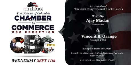 DC Chamber of Commerce Congressional Black Caucus Celebration  tickets