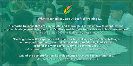 EcoRise: Cultivating Environmental Stewardship and Student Innovation: Boston