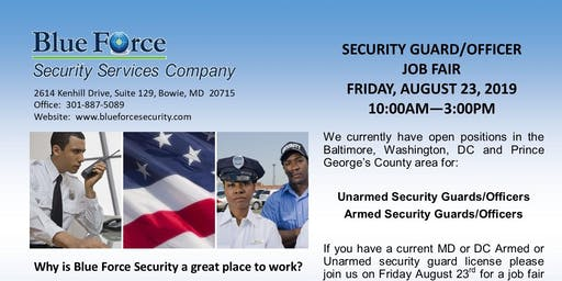 Security Officer's Job Fair