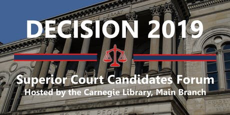 Decision 2019: PA Superior Court Candidates Forum (Pittsburgh) tickets
