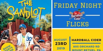 The Sandlot - Friday Night Flicks @ Hardball Cider