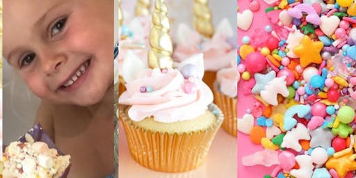 Unicorn Cupcake Making & Afternoon Tea - MANCHESTER