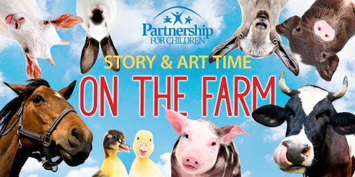 On the Farm themed Story & Art Time