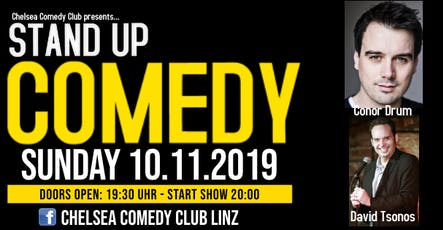 Irish & Canadian Stand-up comedy night tickets