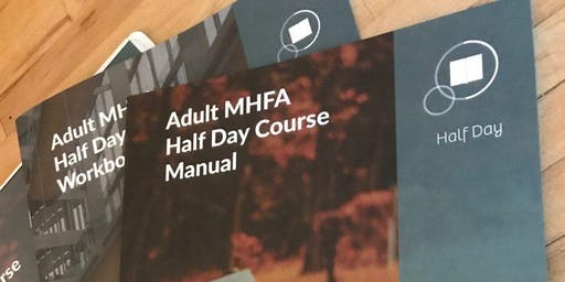 Mental Health First Aid (MHFA) course- Shrewsbury- Half-day