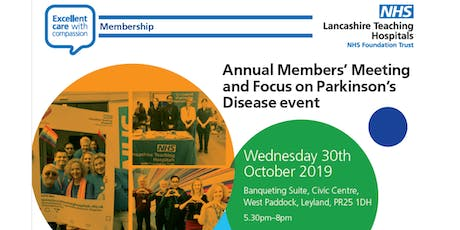 Annual Members Meeting 2019 including presentation from our Parkinson's Team  tickets
