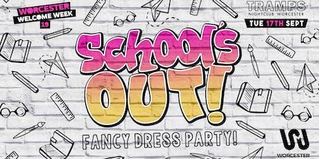 School's Out - School Uniform party tickets