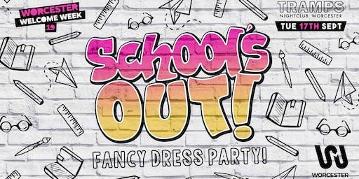 School's Out - School Uniform party