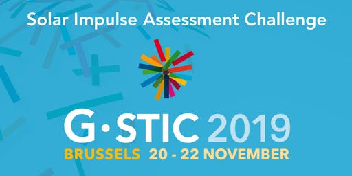 Solar Impulse Foundation expert challenge event in Brussels x G-STIC