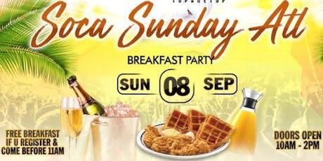 Soca Sunday ATL tickets