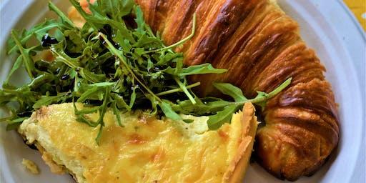 Croissants & Quiche - French Brunch