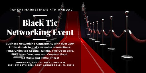 Black Tie Networking Event