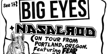 Big Eyes / Nasalrod / Art Gray Noizz Quintet tickets