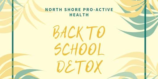 Back To School Detox