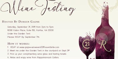 Doreen Gagne Client Appreciation Wine Tasting