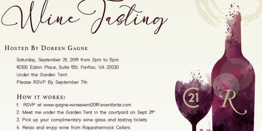 Doreen Gagne Client Appreciation Wine Tasting