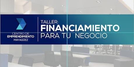 Financiamiento para tu Negocio tickets