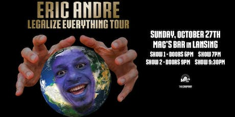 Eric Andre: Legalize Everything Tour tickets