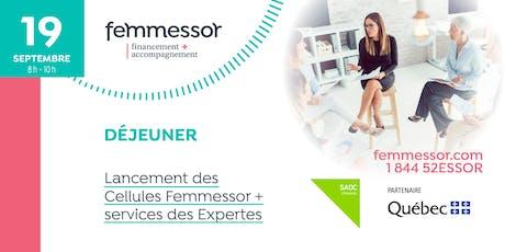Déjeuner lancement des Cellules Femmessor + services des Expertes | Région de la Côte-Nord billets