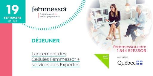 Déjeuner lancement des Cellules Femmessor + services des Expertes   Région de la Côte-Nord