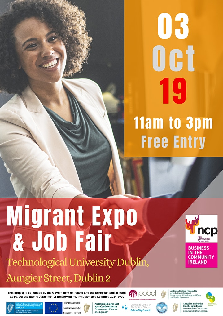 The 2019 Migrant Expo and Job Fair image