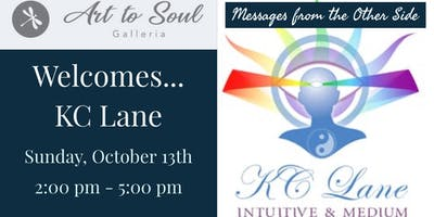 Art to Soul Galleria Hosts Messages from the Other Side with KC Lane
