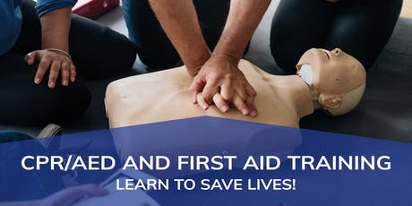 CPR/AED and First Aid Training tickets