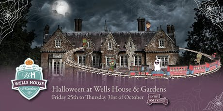 Halloween at Wells House & Gardens - Friday 25th until Thursday 31st October tickets