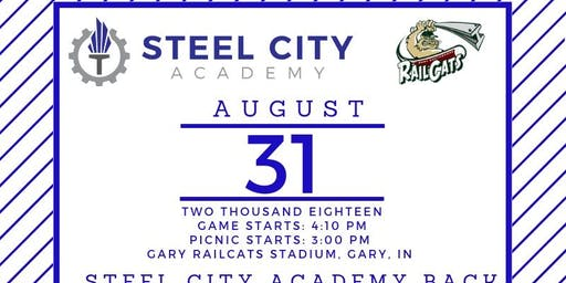 Steel City Academy Back to School Celebration and Fundraiser at the Railcats