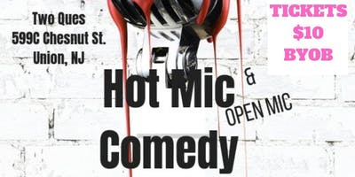 Hot Mic Comedy & Open Mic Vol. 3