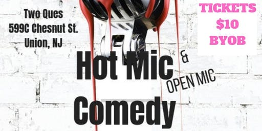 Hot Mic Comedy & Open Mic Vol. 3