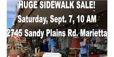 HUGE Sidewalk Sale! Antiques!  tickets