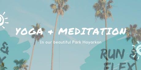Yoga and meditation Summer Slinic  tickets