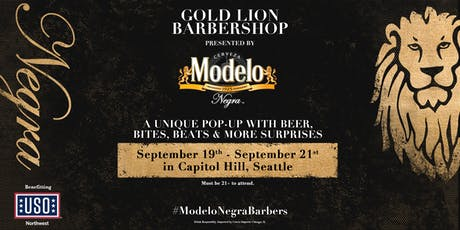The Gold Lion Barbershop Seattle Presented by Modelo Negra tickets