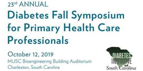 23rd Annual Diabetes Fall Symposium for Primary Health Care Professionals tickets