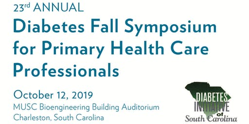 23rd Annual Diabetes Fall Symposium for Primary Health Care Professionals