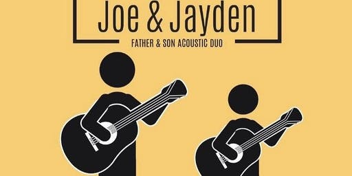 Joe & Jayden Phillips Father & Son Acoustic Duo Perform at Ledge Rock Hill Winery