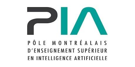 Lancement du Pôle montréalais d'enseignement supérieur en IA tickets