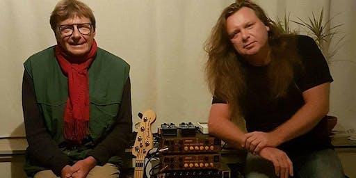 Pierre & Barend Courbois (Basgitaar clinic en duo optreden) in De Cactus