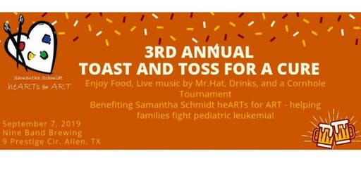 Toast & Toss - Live Music & Corn Hole Tournament