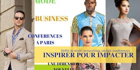 Mode, Business, conférences  billets