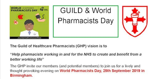GHP World Pharmacists Day event Conference Aston Hotel Birmingham B4 7ET
