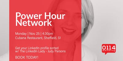 Power Hour Network : LinkedIn Profiles w/ The LinkeIn Lady – Judy Parsons!